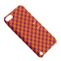Vibrant Retro Diamond Pattern Apple iPod Touch 5 Hardshell Case with Stand View5