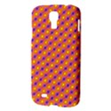 Vibrant Retro Diamond Pattern Samsung Galaxy S4 I9500/I9505 Hardshell Case View3