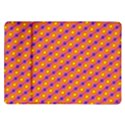 Vibrant Retro Diamond Pattern Samsung Galaxy Tab 10.1  P7500 Flip Case View1
