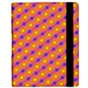 Vibrant Retro Diamond Pattern Samsung Galaxy Tab 8.9  P7300 Flip Case View2