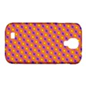 Vibrant Retro Diamond Pattern Samsung Galaxy S4 Classic Hardshell Case (PC+Silicone) View1