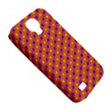 Vibrant Retro Diamond Pattern Samsung Galaxy S4 Classic Hardshell Case (PC+Silicone) View5