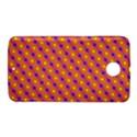 Vibrant Retro Diamond Pattern Nexus 6 Case (White) View1