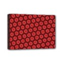 Red Passion Floral Pattern Mini Canvas 7  x 5  View1