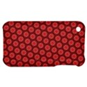 Red Passion Floral Pattern Apple iPhone 3G/3GS Hardshell Case View1