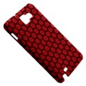 Red Passion Floral Pattern Samsung Galaxy Note 1 Hardshell Case View5
