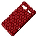 Red Passion Floral Pattern HTC Radar Hardshell Case  View4