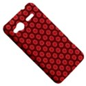 Red Passion Floral Pattern HTC Radar Hardshell Case  View5