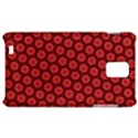 Red Passion Floral Pattern Samsung Infuse 4G Hardshell Case  View1