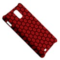 Red Passion Floral Pattern Samsung Infuse 4G Hardshell Case  View5