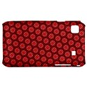 Red Passion Floral Pattern Samsung Galaxy S i9000 Hardshell Case  View1