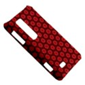 Red Passion Floral Pattern LG Optimus Thrill 4G P925 View5