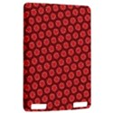 Red Passion Floral Pattern Kindle Touch 3G View2