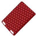 Red Passion Floral Pattern Kindle Touch 3G View4