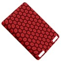 Red Passion Floral Pattern Kindle Touch 3G View5