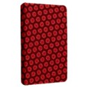 Red Passion Floral Pattern Kindle Fire (1st Gen) Hardshell Case View2