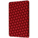 Red Passion Floral Pattern Kindle Fire (1st Gen) Hardshell Case View3