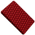 Red Passion Floral Pattern Kindle Fire (1st Gen) Hardshell Case View5