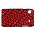 Red Passion Floral Pattern Samsung Galaxy S i9008 Hardshell Case View1