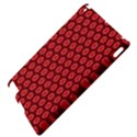 Red Passion Floral Pattern Apple iPad 2 Hardshell Case View4