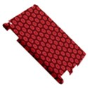 Red Passion Floral Pattern Apple iPad 2 Hardshell Case View5