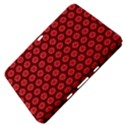 Red Passion Floral Pattern Samsung Galaxy Tab 8.9  P7300 Hardshell Case  View4