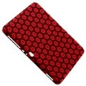 Red Passion Floral Pattern Samsung Galaxy Tab 8.9  P7300 Hardshell Case  View5