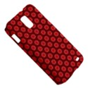 Red Passion Floral Pattern Samsung Galaxy S II Skyrocket Hardshell Case View5