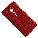 Red Passion Floral Pattern Sony Xperia ion View5