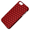 Red Passion Floral Pattern Apple iPhone 5 Classic Hardshell Case View4
