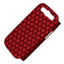 Red Passion Floral Pattern Samsung Galaxy S III Hardshell Case (PC+Silicone) View4