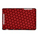 Red Passion Floral Pattern Nexus 7 (2012) View1
