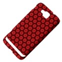 Red Passion Floral Pattern Samsung Ativ S i8750 Hardshell Case View4