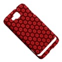 Red Passion Floral Pattern Samsung Ativ S i8750 Hardshell Case View5
