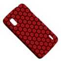 Red Passion Floral Pattern LG Nexus 4 View5
