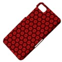 Red Passion Floral Pattern BlackBerry Z10 View4
