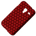 Red Passion Floral Pattern Samsung Galaxy Ace Plus S7500 Hardshell Case View4