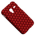 Red Passion Floral Pattern Samsung Galaxy Ace Plus S7500 Hardshell Case View5
