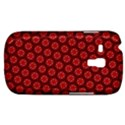 Red Passion Floral Pattern Samsung Galaxy S3 MINI I8190 Hardshell Case View1