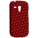 Red Passion Floral Pattern Samsung Galaxy S3 MINI I8190 Hardshell Case View2
