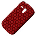 Red Passion Floral Pattern Samsung Galaxy S3 MINI I8190 Hardshell Case View4