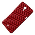 Red Passion Floral Pattern Sony Xperia T View4