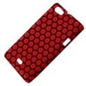 Red Passion Floral Pattern Sony Xperia Miro View4