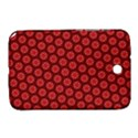 Red Passion Floral Pattern Samsung Galaxy Note 8.0 N5100 Hardshell Case  View1