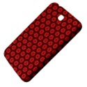 Red Passion Floral Pattern Samsung Galaxy Tab 3 (7 ) P3200 Hardshell Case  View4