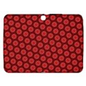 Red Passion Floral Pattern Samsung Galaxy Tab 3 (10.1 ) P5200 Hardshell Case  View1