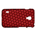 Red Passion Floral Pattern LG Optimus L7 II View1