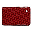 Red Passion Floral Pattern Samsung Galaxy Tab 2 (7 ) P3100 Hardshell Case  View1