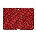 Red Passion Floral Pattern Samsung Galaxy Tab 2 (10.1 ) P5100 Hardshell Case  View1