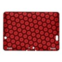 Red Passion Floral Pattern Kindle Fire HDX 8.9  Hardshell Case View1